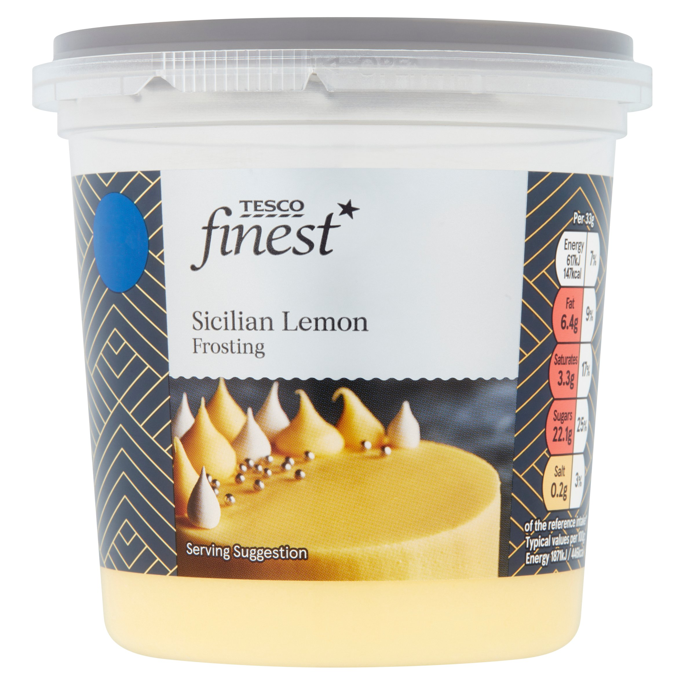 Tesco Finest Sicilian Lemon Frosting 400G