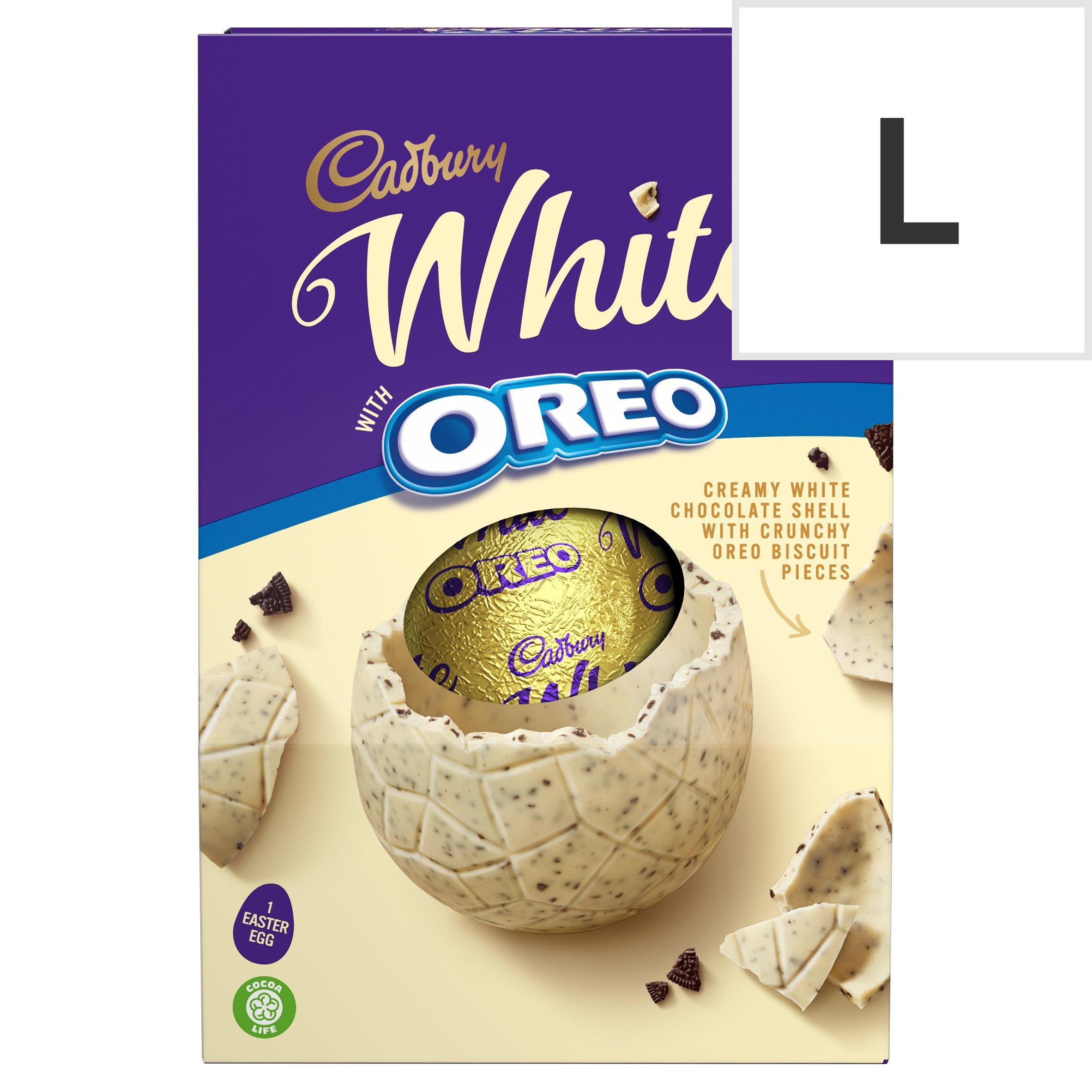 Cadbury White With Oreo Easter Egg 220G