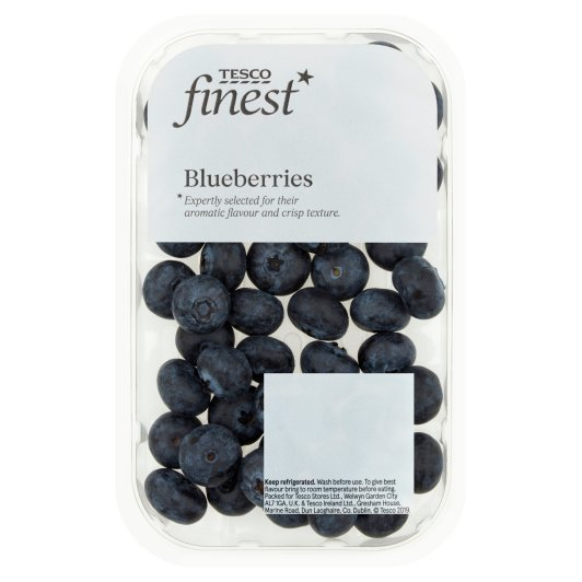 image 1 of Tesco Finest Blueberries 150G Class 1