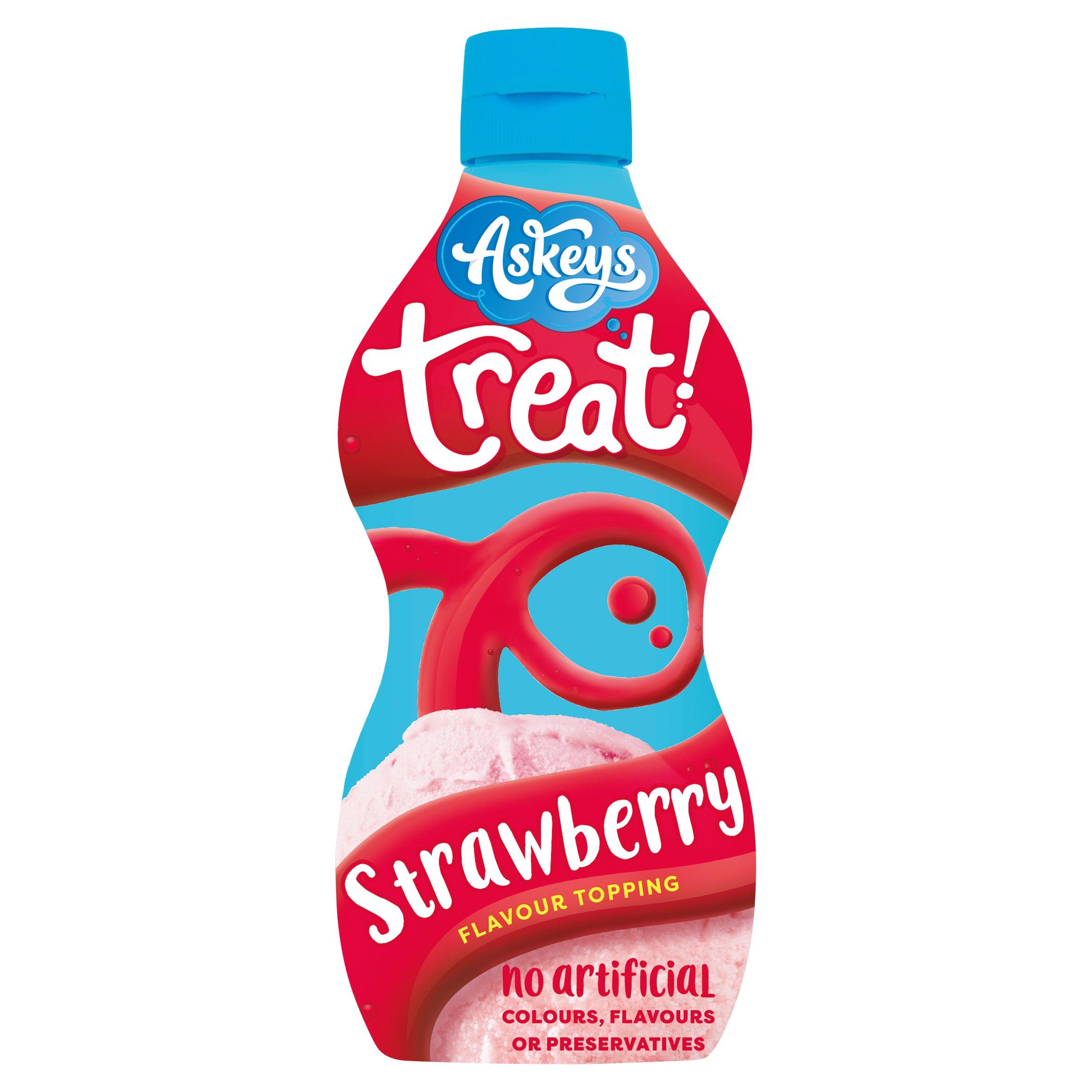 Askeys Treat Strawberry Sauce 325G