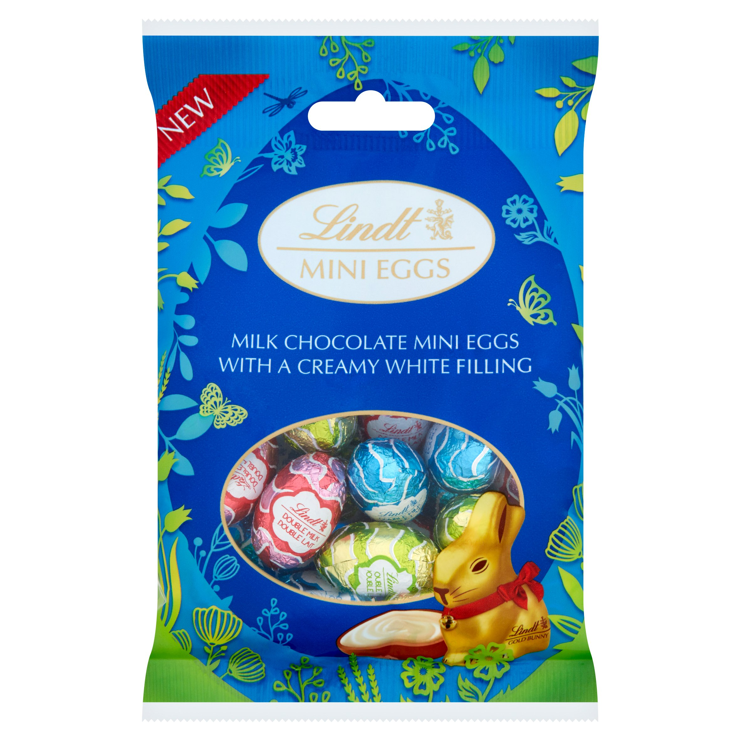 image 1 of Lindt Mini Eggs Milk Chocolate With Creamy Filling 80G