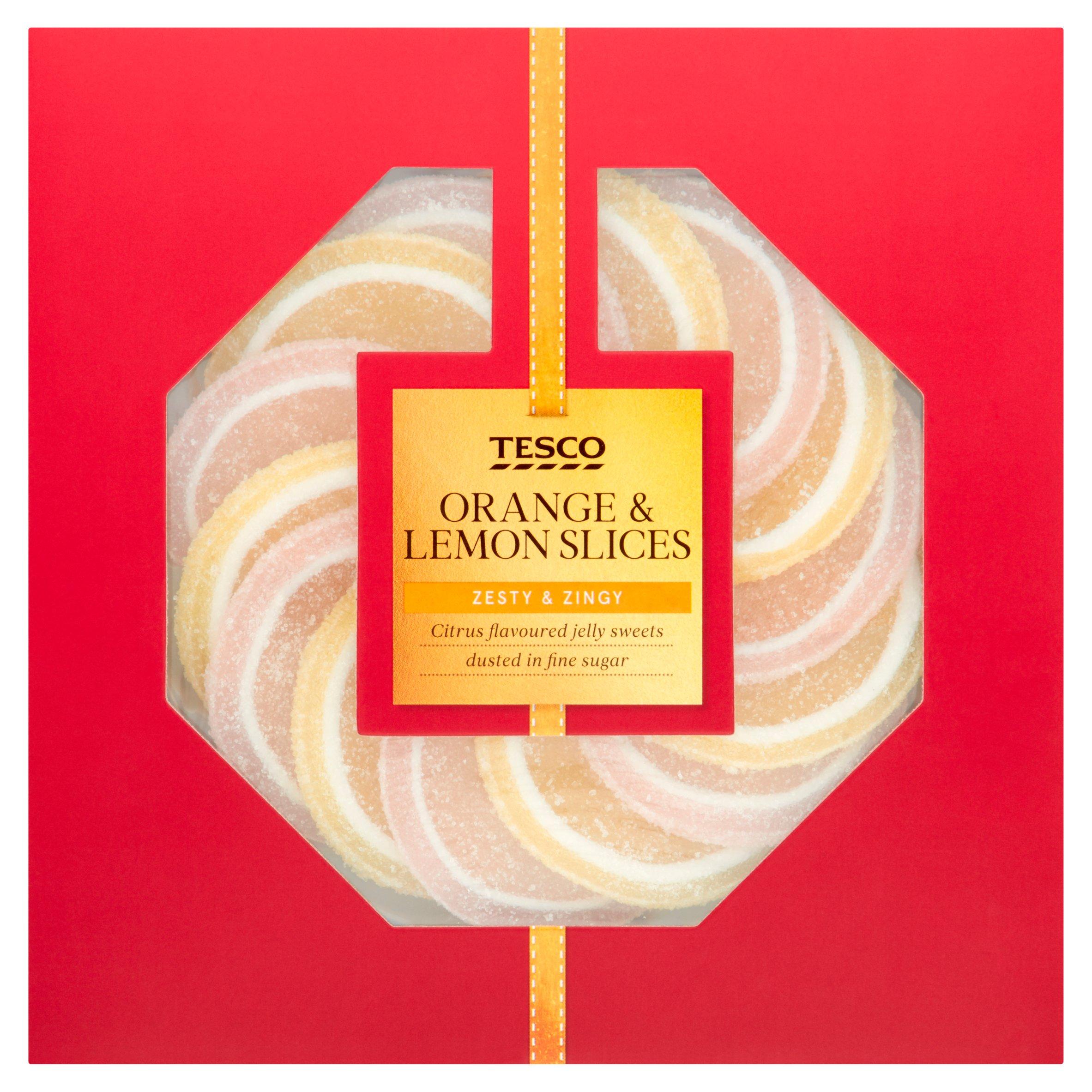 Tesco Orange And Lemon Slices 120G