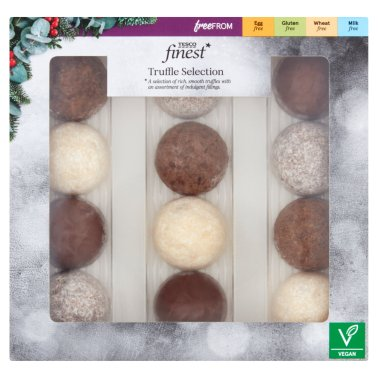 Tesco Finest Free From Truffle Selection 139G