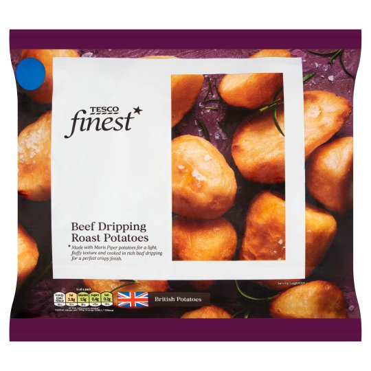 Tesco Finest Beef Fat Roast Potatoes 800G