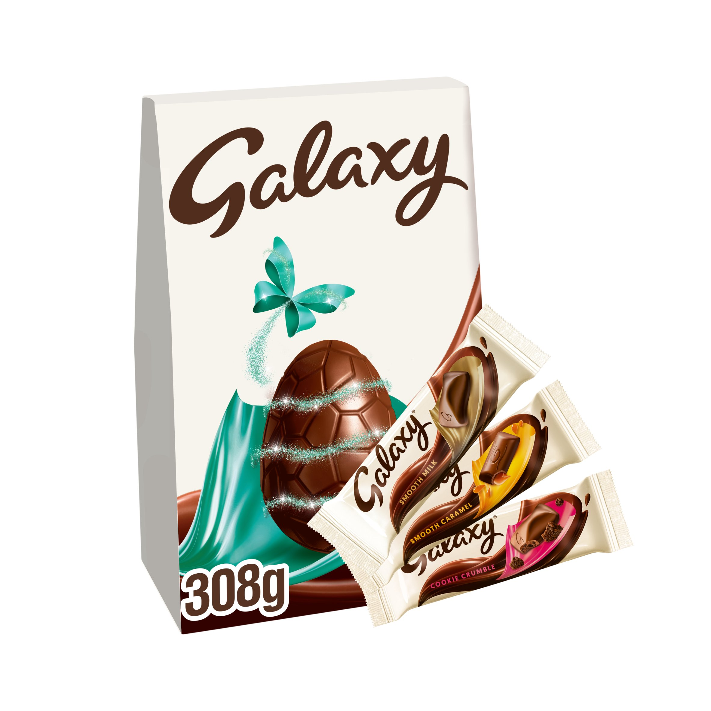 Galaxy Milk Chocolate Indulgent Collection Easter Egg 308G