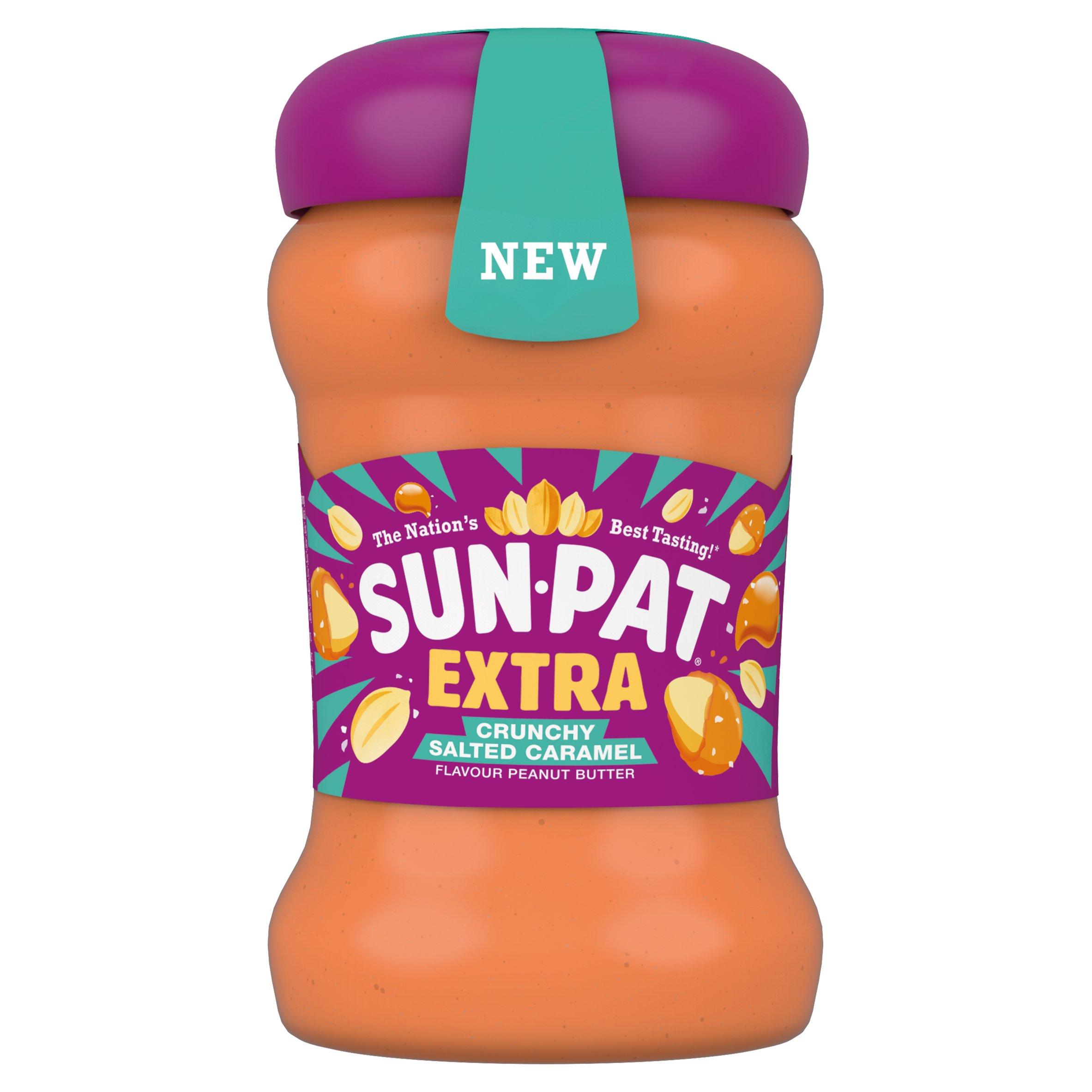 Sun Pat Extra Salted Caramel Crunchy Peanut Butter 300G