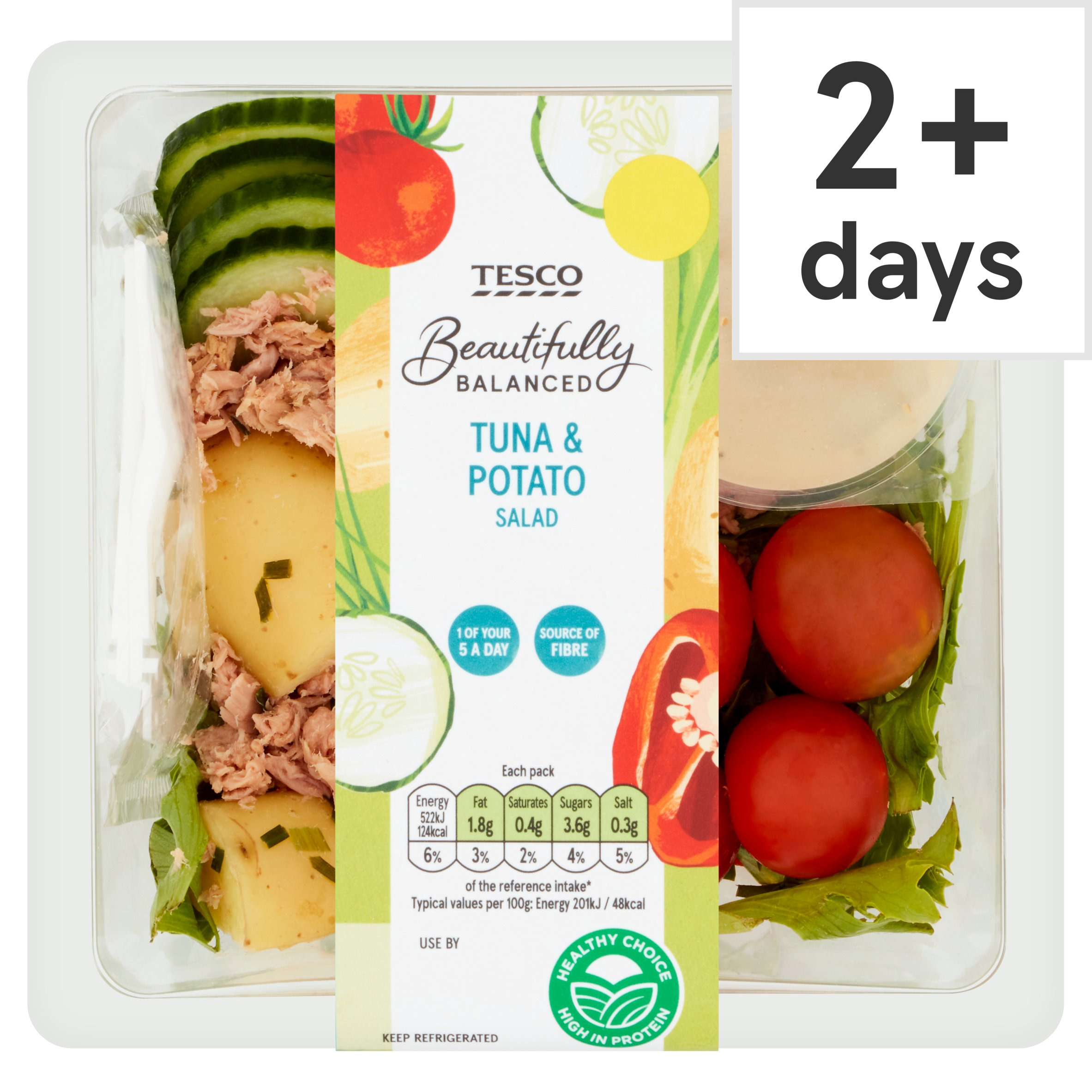 Tesco Beautifully Balanced Tuna & Potato Salad 260G