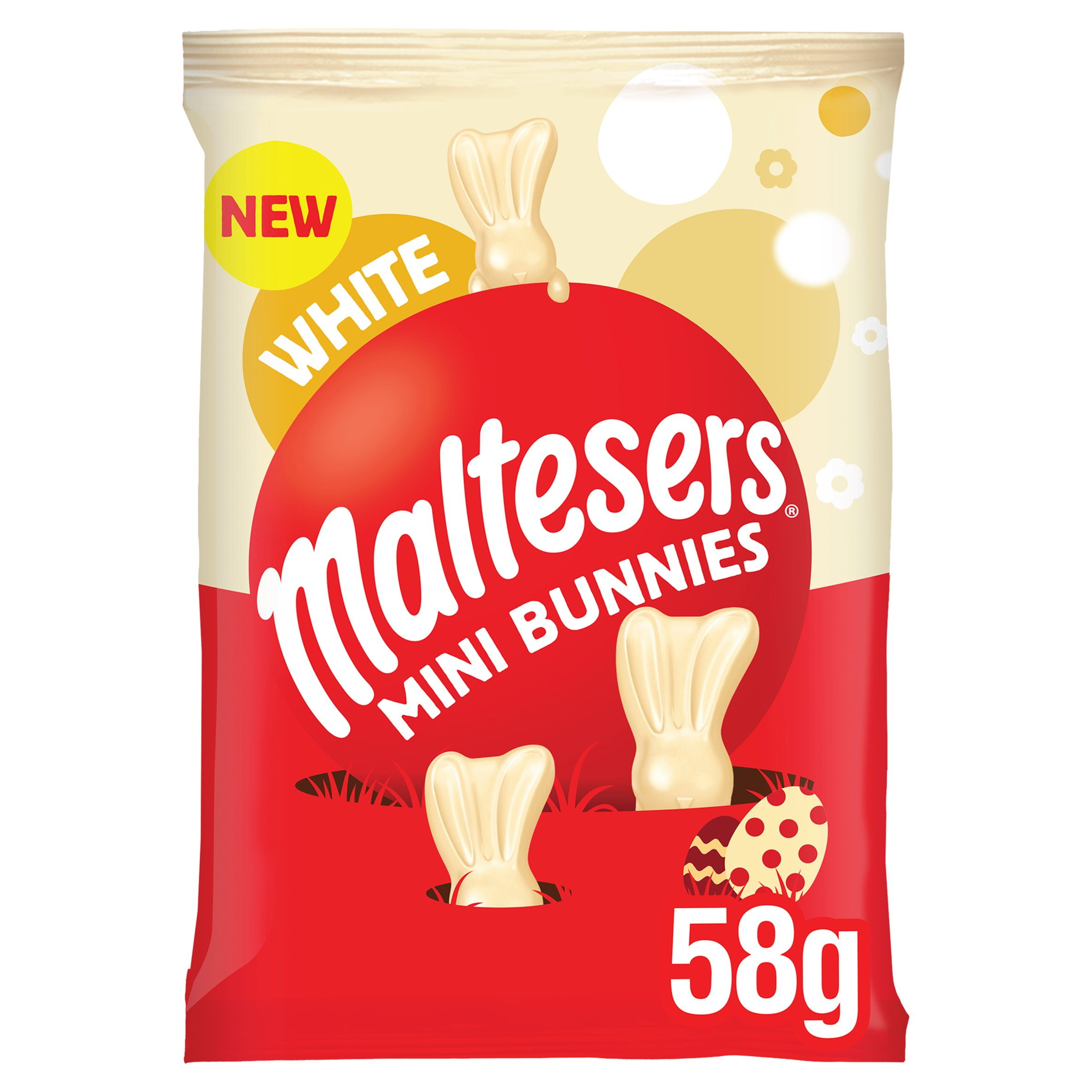 image 1 of Maltesers White Chocolate Mini Bunnies 58G