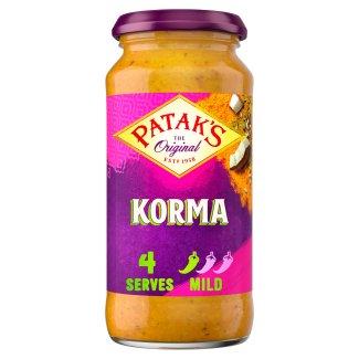 Pataks Mild Korma Sauce 450G - Tesco Groceries