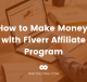 Make money Fiverr affiliate program