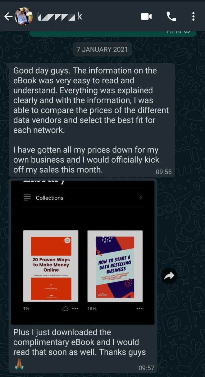 Start data reselling business in Nigeria