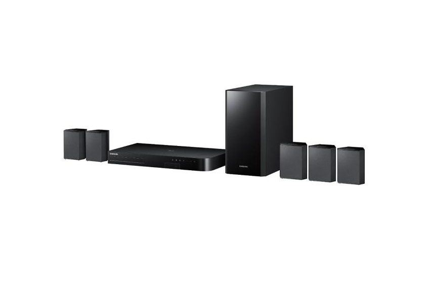 SAMSUNG HT-J4500 5.1 CHANNEL SMART 3D BLU-RAY HOME THEATER SYSTEM