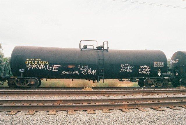 Savage - Freight Train Graffiti
