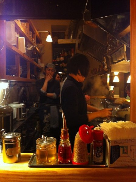 The Chefs at Cocolo making some Fresh Ramen
