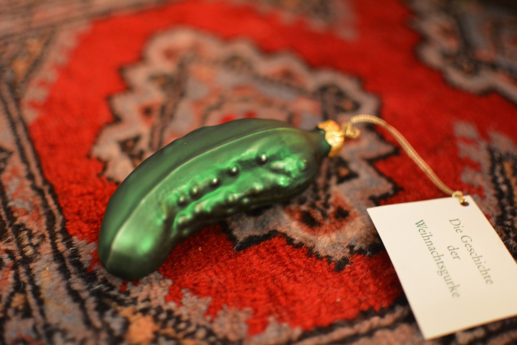 The Original German Christmas Pickle - Die Original Weihnachtsgurke