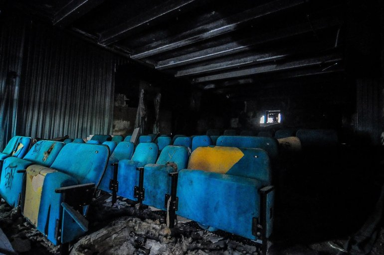 kino sojus saal sitze seats abandoned cinema verlassenes kino lost places abandoned berlin germany