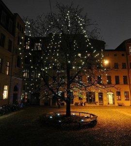 Courtyard of the Kunsthof Berlin Germany
