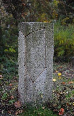Auriga Star Constellation on a Granite Pillar