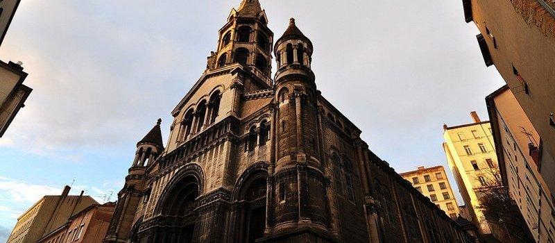 Eglise du Bon Pasteur- Church of the Good Shepard in Lyon, France