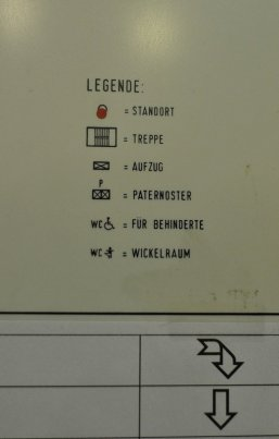 Paternoster Location in the Rathaus Schöneberg