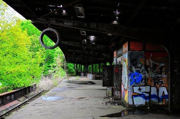 abandoned sbahn station siemensstadt berlin
