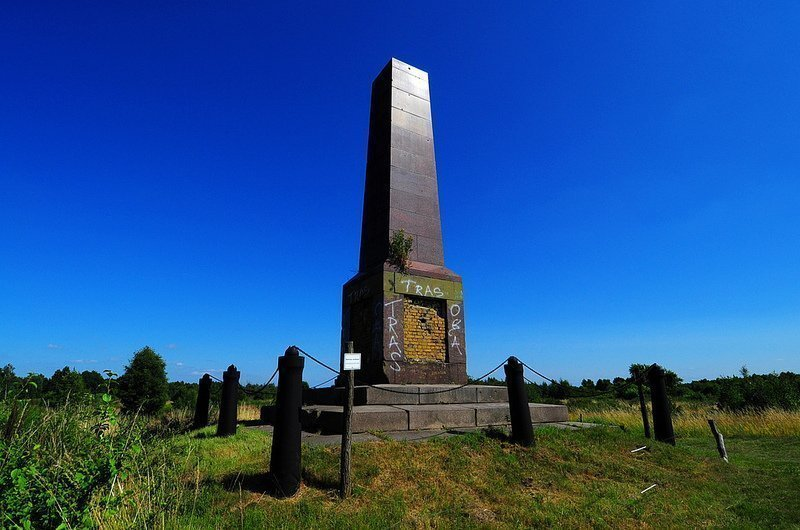 Truppenuebungsplatz Doeberitz obelisk