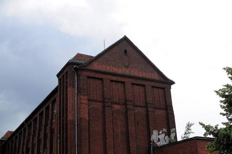 VEB Kabelwerk Koepenick Right Factory Building