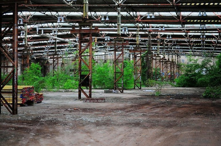 abandoned industrial factory hall berlin koepenick