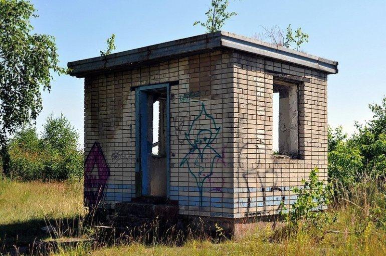 abandoned military house Truppenuebungsplatz Doeberitz