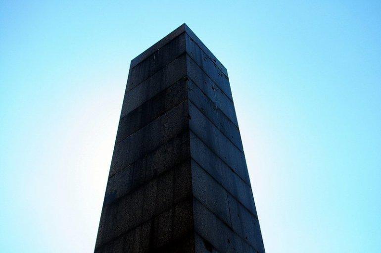 bullet holes obelisk