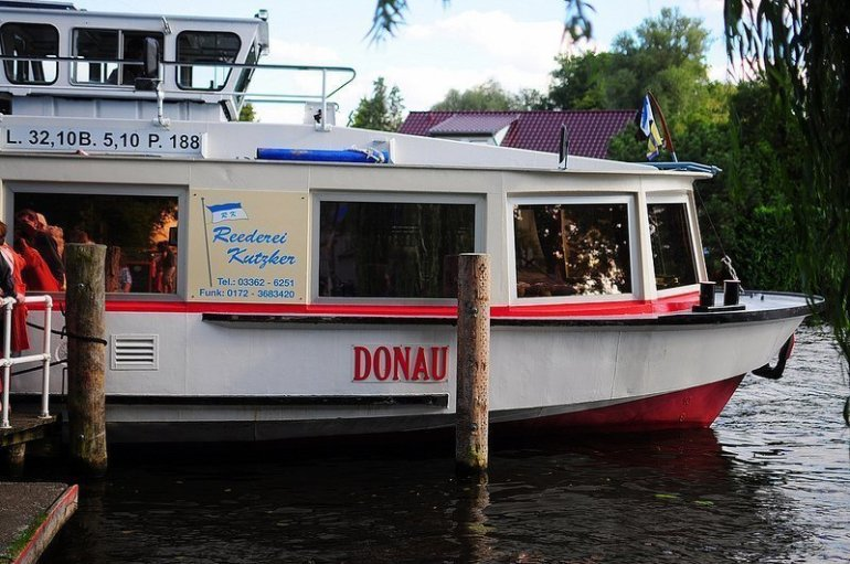 Donau Fähre Berlin, Müggelspree