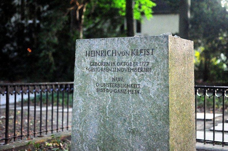 kleist grab berlin deutschland