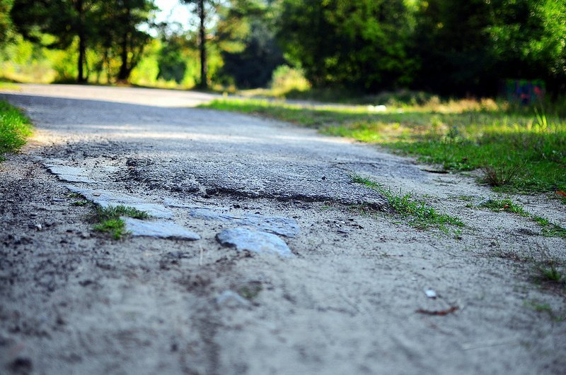 verlassene autobahn dreilinden