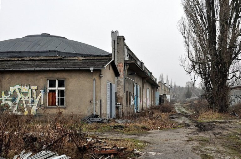abandoned military airport karlshorst berlin germany