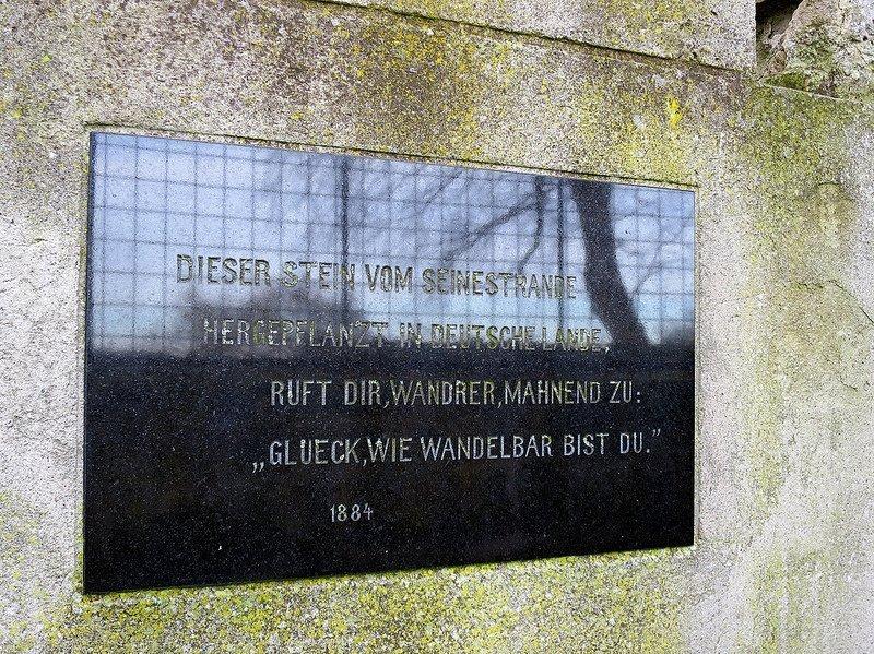 gedicht tuileriensaeule schwanenwerder berlin