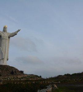 tallest jesus statue world Świebodzin poland