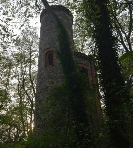 abandoned castle europe forest