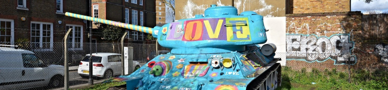 mandela way london stompie stompy t34 soviet tank