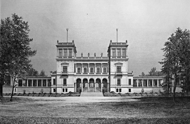 19th Century german castle
