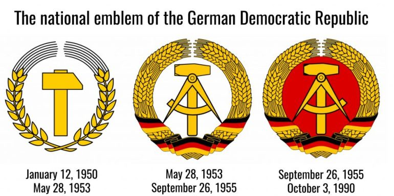 Finding The Last Emblems Of The German Democratic Republic In Berlin