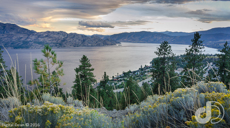 Okanagan Connector View