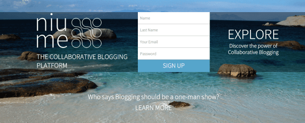 Niume and blogging 3333