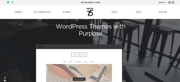 PRESS 75 WORDPRESS THEMES REJI STEPHENSON
