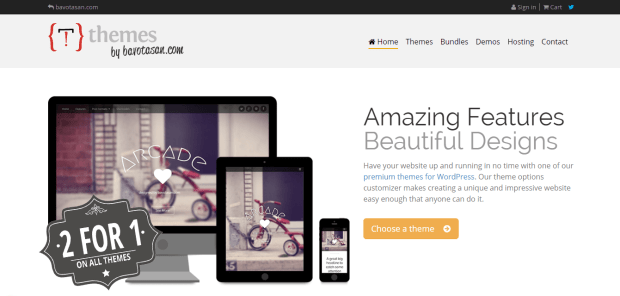 BAVOTASAN WORDPRESS THEME SHOP REJI STEPHENSON