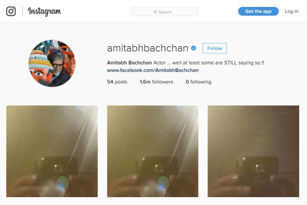 Reji Stephenson Amithabh Bachan