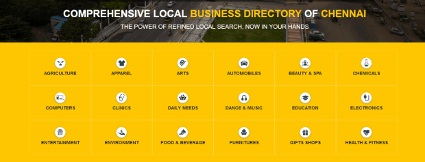 Local business directory Chennai