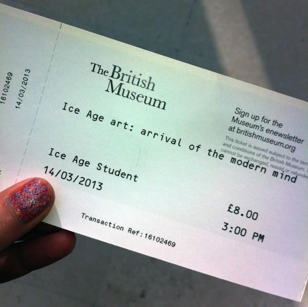 Thinking Ice Age Art British Museum