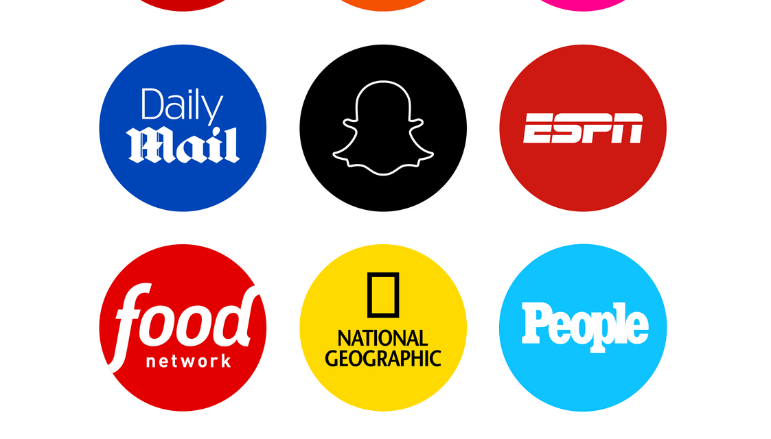"""Snapchat """"Discover"""" Overview"""