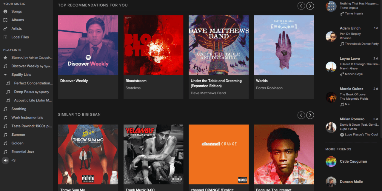 Spotify Brings Personalized Playlists with Discover Weekly