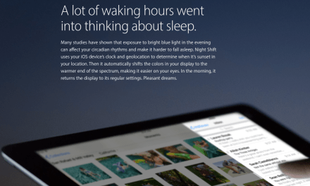 iOS 9 To Get Night Shift Feature